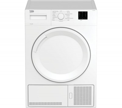 Save £50 at Currys on BEKO DTKCE80021W 8 kg Condenser Tumble Dryer - White, White