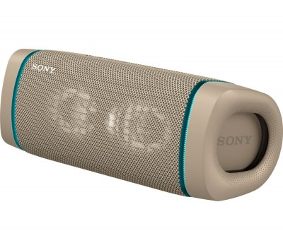 Save £30 at Currys on SONY SRS-XB33 Portable Bluetooth Speaker - Taupe, Taupe