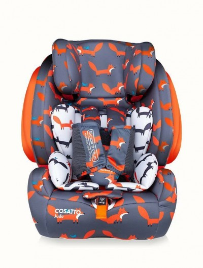 Save £20 at Argos on Cosatto Judo Group 1/2/3 ISOFIX Car Seat - Mister Fox
