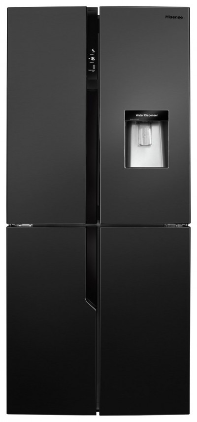 Save £70 at Argos on Hisense RQ560N4WB1 American Fridge Freezer - Black