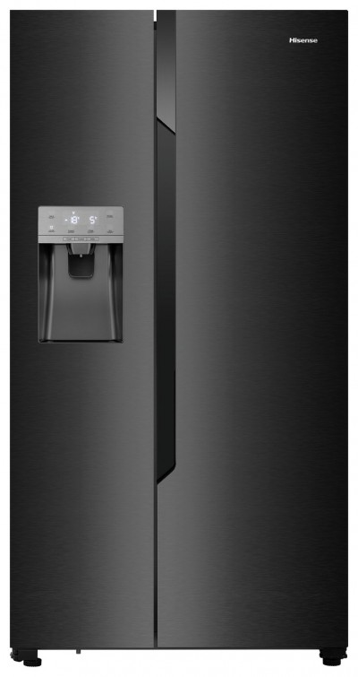 Save £100 at Argos on Hisense RS694N4TB1 American Fridge Freezer - Black