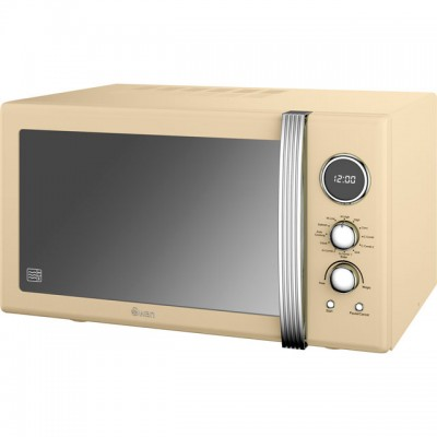 Save £39 at AO on Swan Retro Digital SM22080CN 25 Litre Combination Microwave Oven - Cream