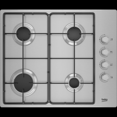 Save £20 at AO on Beko HIBG64120SX 61cm Gas Hob - Stainless Steel