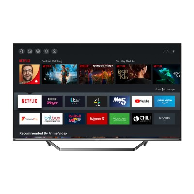 Save £100 at PRCDirect on Hisense 50U7QFTUK 50 ULED 4K HDR Smart Full Array TV