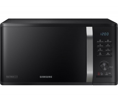 Save £30 at Currys on SAMSUNG MW3500K Heat Wave Microwave with Grill - Black, Black