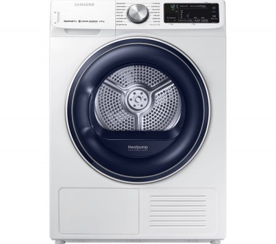 Save £100 at Currys on Samsung Tumble Dryer DV80N62532W Smart 8 kg Heat Pump - White, White