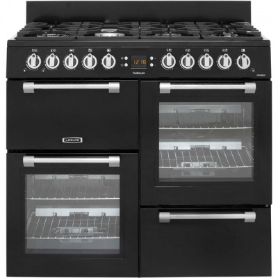 Save £210 at AO on Leisure Cookmaster CK100G232K 100cm Gas Range Cooker - Black - A+/A Rated