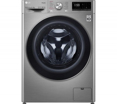 Save £80 at Currys on LG TurboWash with AI DD V7 FWV796STSE WiFi-enabled 9 kg Washer Dryer - Graphite, Graphite