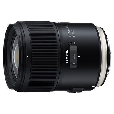 Save £161 at WEX Photo Video on Tamron 35mm f1.4 SP Di USD Lens - Nikon Fit