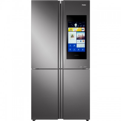 Save £549 at AO on Haier HTF-552DGS6U1 Wifi Connected American Fridge Freezer - Stainless Steel / Glass - A+ Rated