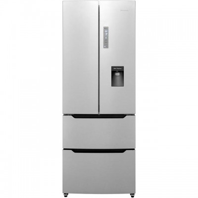 Save £100 at AO on Hisense RF528N4WC1 American Fridge Freezer - Stainless Steel Effect - A+ Rated