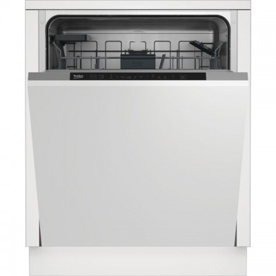 Save £40 at AO on Beko DIN16430 Fully Integrated Standard Dishwasher - White Control Panel with Fixed Door Fixing Kit - A+++ Rated