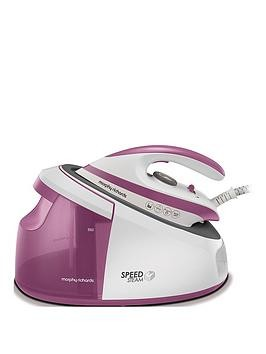 Save £21 at Very on Morphy Richards Speed Steam Generator Iron 333201 - White/Pink