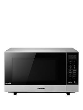 Save £65 at Very on Panasonic 27-Litre Flatbed Microwave With Inverter Technology Nn-Sf464Mbpq - Silver