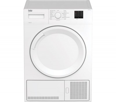 Save £40 at Currys on BEKO DTKCE90021W 9 kg Condenser Tumble Dryer - White, White