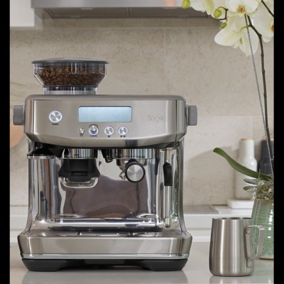 Save £100 at AO on Sage The Barista Pro™ SES878BSS Espresso Coffee Machine with Integrated Burr Grinder - Brushed Stainless Steel
