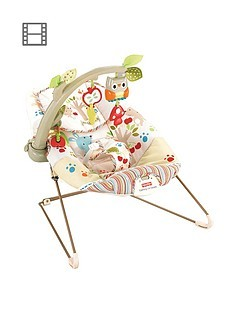 Save £10 at Very on Fisher-Price Woodsy Friends Comfy Time Bouncer