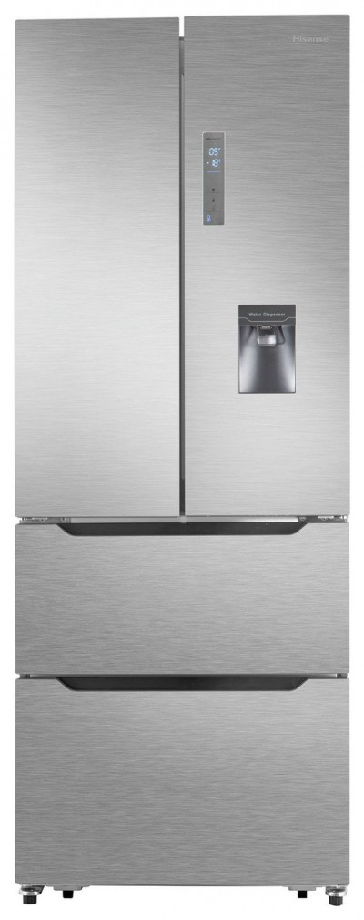 Save £190 at Argos on Hisense RF528N4WC1 American Fridge Freezer - Stainless Steel