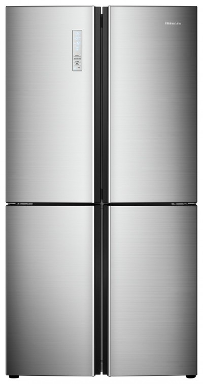 Save £190 at Argos on Hisense RQ689N4AC1 American Fridge Freezer - Stainless Steel