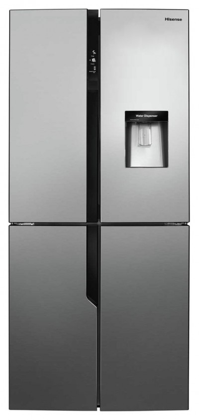 Save £170 at Argos on Hisense RQ560N4WC1 American Fridge Freezer - Stainless Steel
