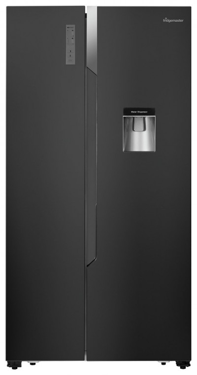 Save £70 at Argos on Fridgemaster MS91515BFF American Fridge Freezer - Black