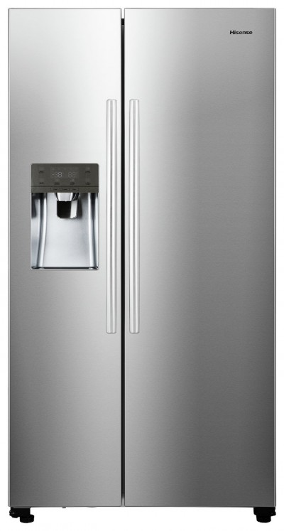 Save £130 at Argos on Hisense RS696N4IC1 American Fridge Freezer - Stainless Steel