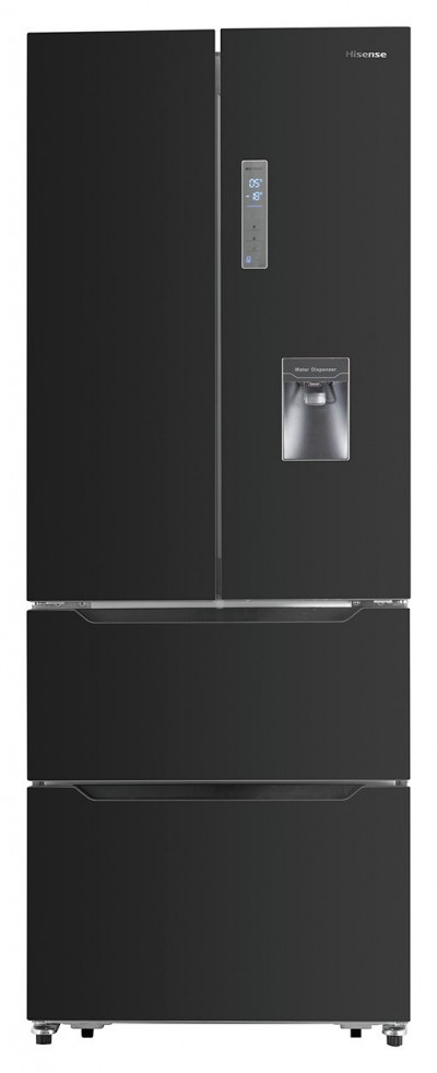 Save £190 at Argos on Hisense RF528N4WB1 American Fridge Freezer - Black
