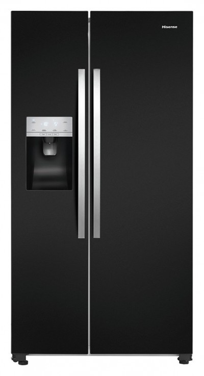 Save £130 at Argos on Hisense RS696N4IB1 American Fridge Freezer - Black