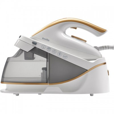 Save £10 at AO on Breville PressXpress VIN410 Pressurised Steam Generator Iron - White / Gold