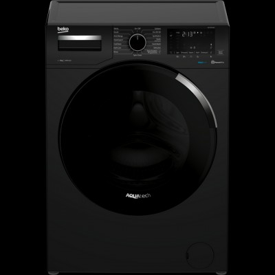Save £60 at AO on Beko WEY94P64EB 9Kg Washing Machine with 1400 rpm - Black - A+++ Rated