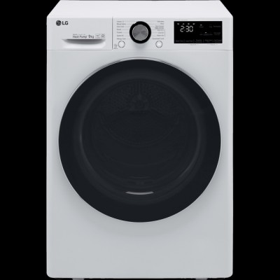 Save £119 at AO on LG V9 FDV909W Wifi Connected 9Kg Heat Pump Tumble Dryer - White - A+++ Rated