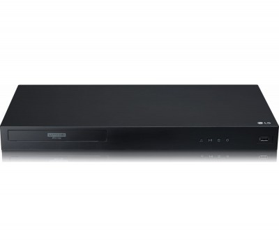 Save £30 at Currys on LG UBK90 Smart 4K Ultra HD HDR Blu-ray & DVD Player, Black