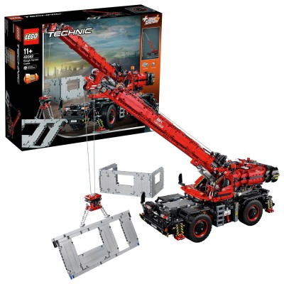 Save £25 at Argos on LEGO Technic Rough Terrain Crane 2 -in-1 Set - 42082