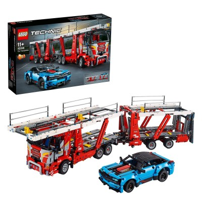 Save £20 at Argos on LEGO Technic Car Transporter 2 -in- 1 Truck Set - 42098