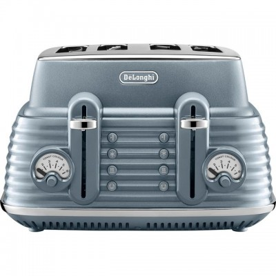 Save £20 at AO on De'Longhi Scolpito CTZS4003.AZ 4 Slice Toaster - Blue