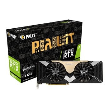 Save £108 at Scan on Palit NVIDIA GeForce RTX 2080 Ti 11GB DUAL Turing Graphics Card