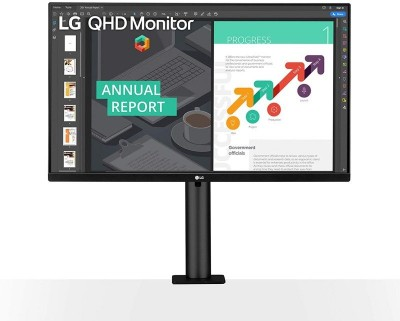 Save £48 at Ebuyer on LG 27QN880 27'' QHD Ergo IPS Monitor with USB Type-C