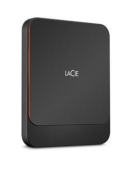 Save £35 at Very on Lacie Lacie Portable External Ssd 500Gb Usb-C Pc/Mac Sthk500800