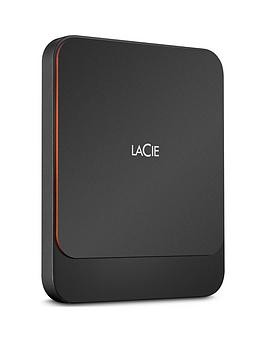 Save £50 at Very on Lacie Lacie Portable External Ssd 1000Gb Usb-C Pc/Mac Sthk1000800