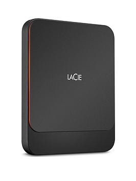 Save £90 at Very on Lacie Lacie Portable External Ssd 2000Gb Usb-C Pc/Mac Sthk2000800
