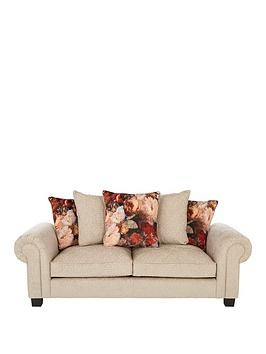 Save £190 at Very on Belgravia Fabric 3 Seater Scatter Back Sofa