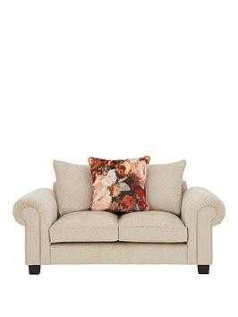 Save £190 at Very on Belgravia Fabric 2 Seater Scatter Back Sofa