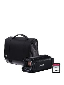 Save £30 at Very on Canon Legria Hf R806 Camcorder Kit Inc 32Gb Sd Card And Case - Black