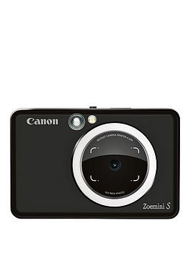 Save £66 at Very on Canon Canon Zoemini S Pocket Size 2-In-1 Instant Camera Printer (Matte Black) + App - Zoemini S Instant Camera Only