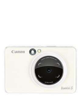 Save £61 at Very on Canon Canon Zoemini S Pocket Size 2-In-1 Instant Camera Printer Phone (Pearl White) + App - Zoemini S Instant Camera With 60 Pack Paper