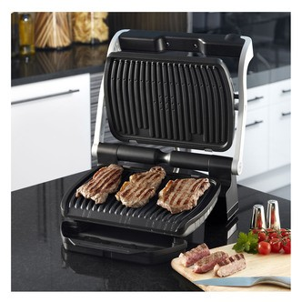 Save £20 at Sonic Direct on Tefal GC713D40 OptiGrill Plus Health Grill Stainless Steel and Black