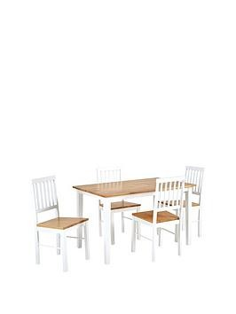 Save £18 at Very on Michigan Dining Table & 4 Chairs