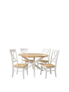 Save £30 at Very on Bristol Dining Table & 4 Chairs Set