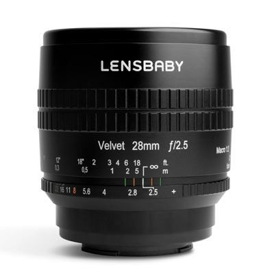 Save £77 at WEX Photo Video on Lensbaby Velvet 28mm f2.5 Lens - Fujifilm X Fit