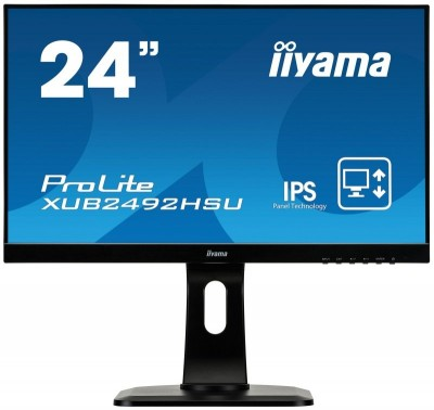 Save £32 at Ebuyer on Iiyama XUB2492HSU-B1 24 1080p IPS Monitor With Adjustable Stand